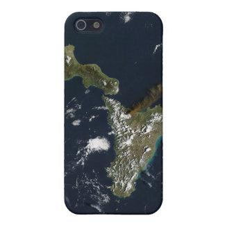 Eruption of Mt Etna in Sicily iPhone SE/5/5s Cover
