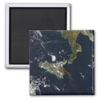Eruption of Mt Etna in Sicily Magnet