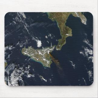 Eruption of Mt Etna in Sicily Mouse Pad