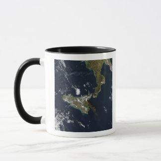 Eruption of Mt Etna in Sicily Mug