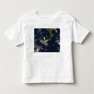 Eruption of Mt Etna in Sicily Toddler T-shirt