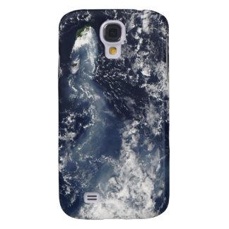 Eruption of Piton de la Fournaise, Reunion Isla Galaxy S4 Case