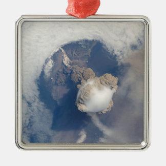 Eruption of Sarychev volcano 2 Metal Ornament