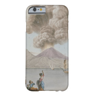 Eruption of Vesuvius, Monday 9th August 1779, plat Barely There iPhone 6 Case