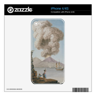 Eruption of Vesuvius, Monday 9th August 1779, plat iPhone 4 Skins