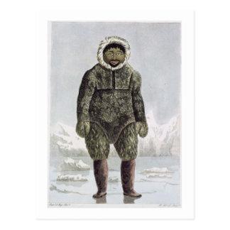 Ervick, a Native of Prince Regent's Bay, engraved Postcard