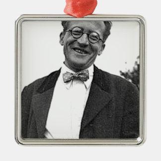 erwin schrodinger christmas ornament