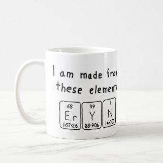 Eryn periodic table name mug