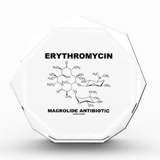 Erythromycin Macrolide Antibiotic (Molecule) Acrylic Award