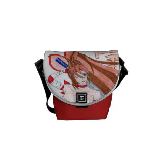 Erza, the warlike one courier bag