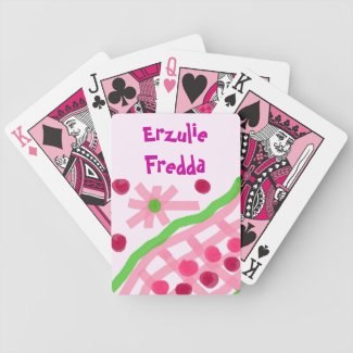 Erzulie Fredda Fortune Telling Hoodoo Reading Card Poker Cards