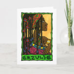 Erzulie Greeting Card