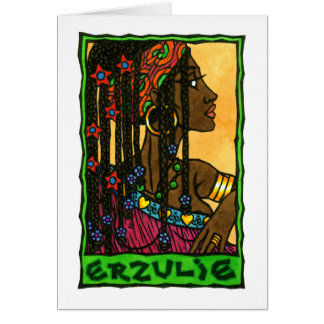 Erzulie Greeting Card