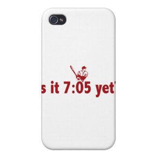 ¿Es 7:05 todavía? (Béisbol de Philly) iPhone 4/4S Fundas