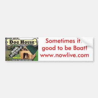 ¡Es a veces bueno ser malo!! www.nowlive.com Pegatina Para Auto
