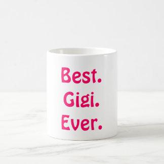 ¡Es abuela de Gigi no! El mejor regalo lindo del d Taza
