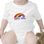 """""""Es aceptable"""" con el arco iris Traje De Bebé"""