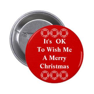 Es ACEPTABLE desearme un botón de las Felices Navi Pin
