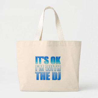 Es aceptable, yo está con DJ - disc jockey Bolsas De Mano