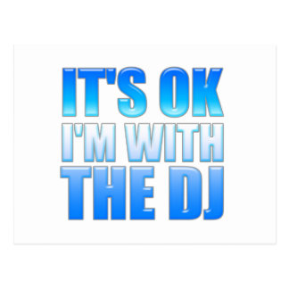 Es aceptable, yo está con DJ - disc jockey Postal
