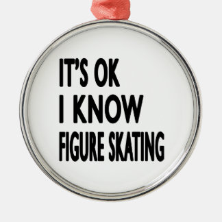 Es ACEPTABLE yo sabe danza del patinaje artístico Ornaments Para Arbol De Navidad