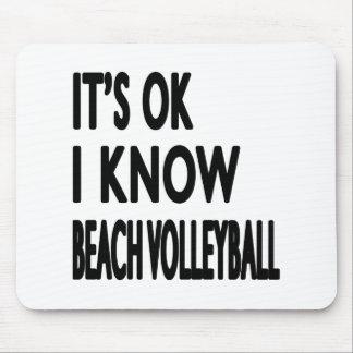 Es ACEPTABLE yo sabe danza del voleibol de playa Tapete De Ratones