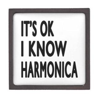 Es aceptable yo sabe la armónica caja de recuerdo de calidad