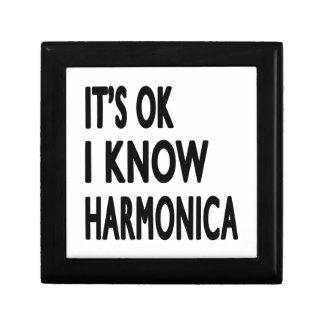 Es aceptable yo sabe la armónica caja de joyas