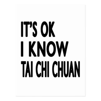 Es aceptable yo sabe la ji Chuan del Tai Tarjetas Postales