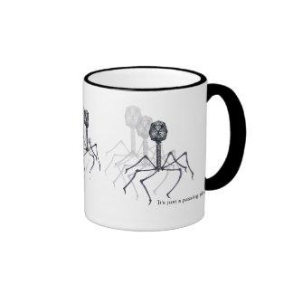Es apenas un fago de paso… Taza de la ciencia