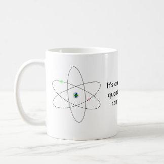 Es asombroso la qué física de quántum puede taza básica blanca