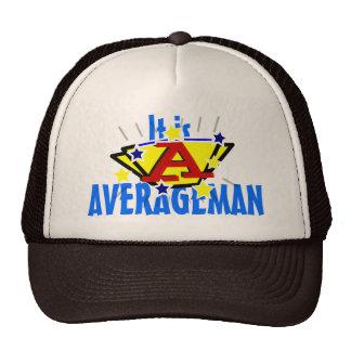 Es Averageman divertido Gorras