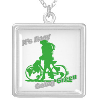 Es bicicleta verde tolerante joyerías
