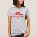 Es camisetas del libra de una astrología de la