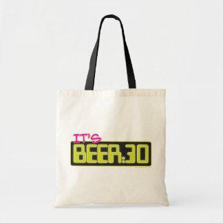 Es cerveza: 30 bolsa