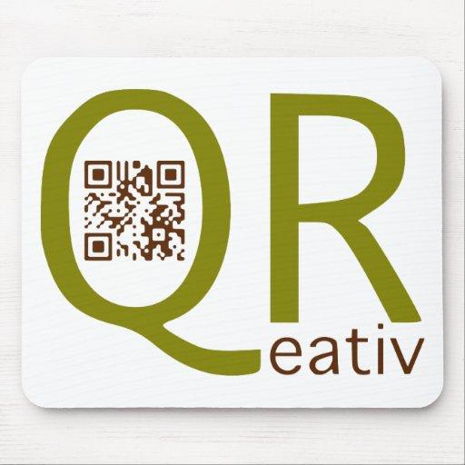 es creativamente con qr-códigos - qreativ tapetes de raton