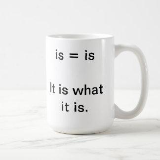 Es cuál es taza.  Fuente grande Taza