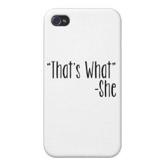 """""""Es cuáles que"""" - ella iPhone 4 Coberturas"""