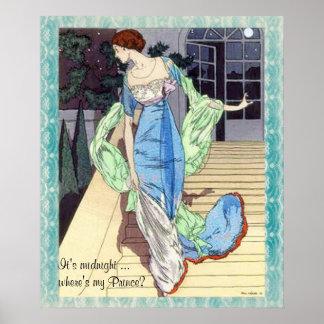¿Es de medianoche… donde está mi príncipe Poster