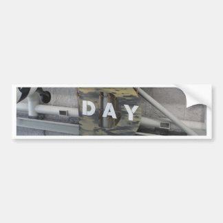 ¡Es día D! Pegatina Para Auto