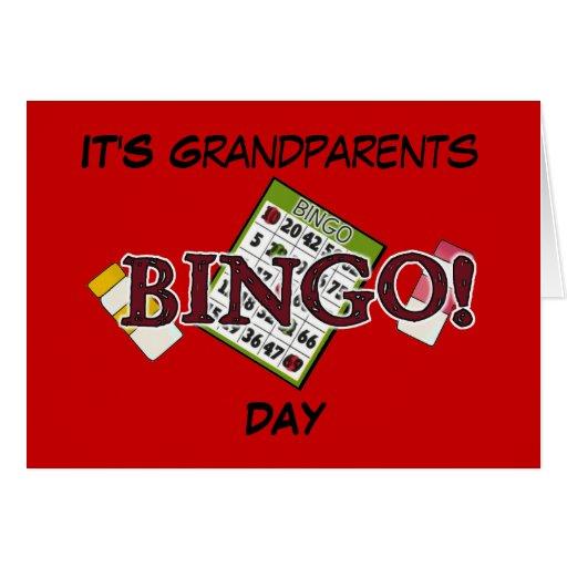 Es DÍA de los abuelos Felicitacion