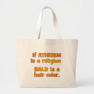 ¿Es el ateísmo una religión? Bolsa Tela Grande