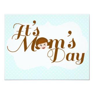 """¡Es el día de la mamá! Invitación 4.25"""" X 5.5"""""""