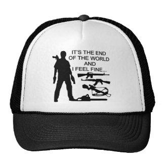 Es el extremo del mundo y siento muy bien gorras de camionero