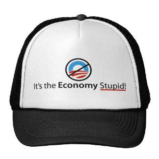Es el gorra estúpido de la economía