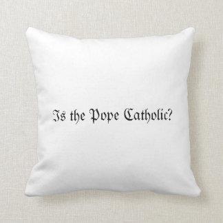 ¿Es el papa Catholic? Almohadas