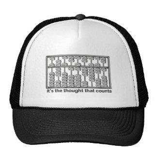 Es el pensamiento que cuenta gorra