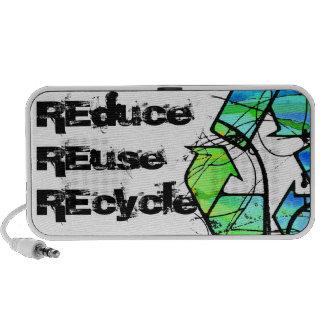 Es el ser fácil reserva verde (del Día de la Tierr iPhone Altavoz