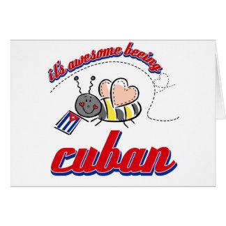 Es el ser impresionante cubano felicitacion