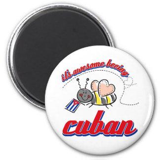 Es el ser impresionante cubano iman de frigorífico
